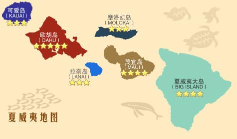 瓦伊格奥群岛地图